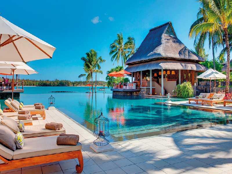 Resort Mauritius Komfort Luxus Residenz Villa auf Stelzen